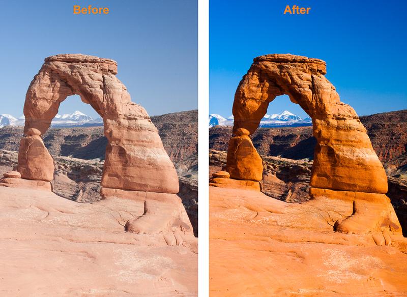 La Sal Mtns Through Delicate Arch