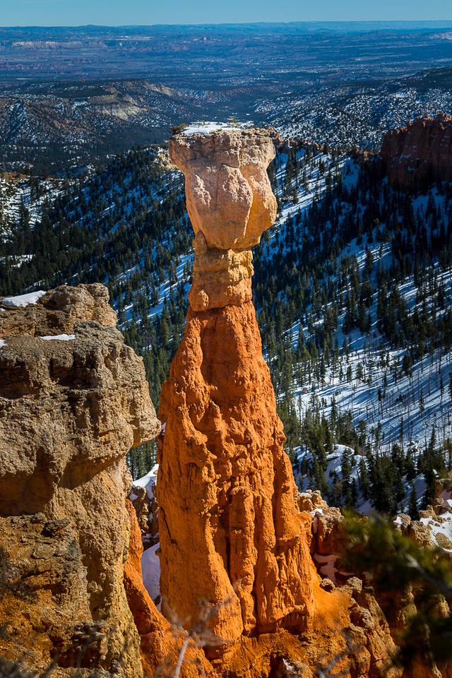 Bryce Canyon hoodoo at Agua Canyon  (mid day) #1