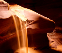Sandfall, Upper Antelope Slot Canyon