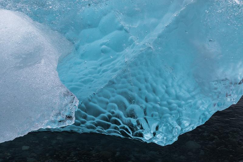 Iceberg on Jökulsárlón Iceberg Beach #13