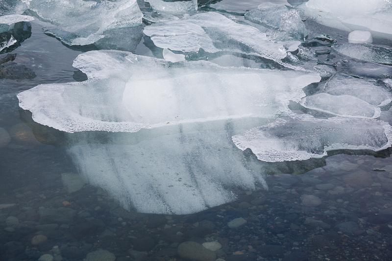 Iceberg in Jökulsárlón Iceberg Lagoon #09