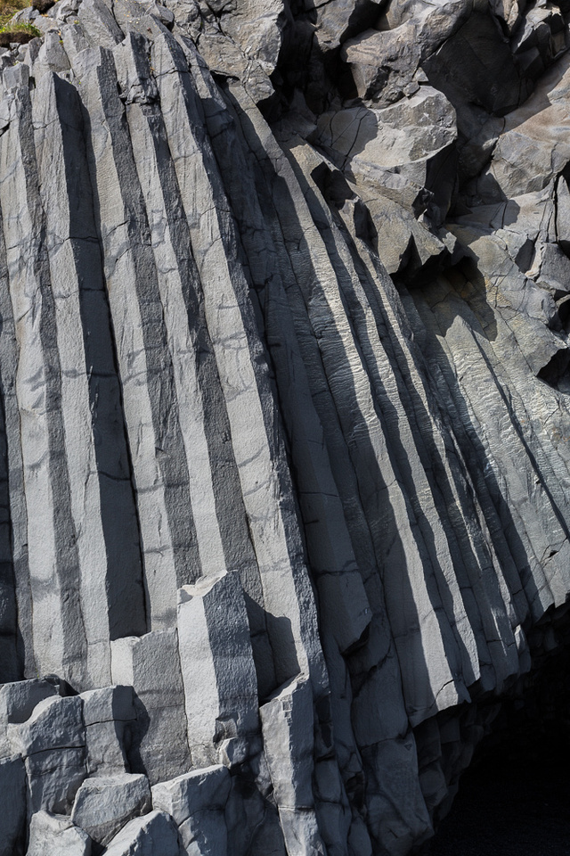 Basalt Columns at Blacksand Beach