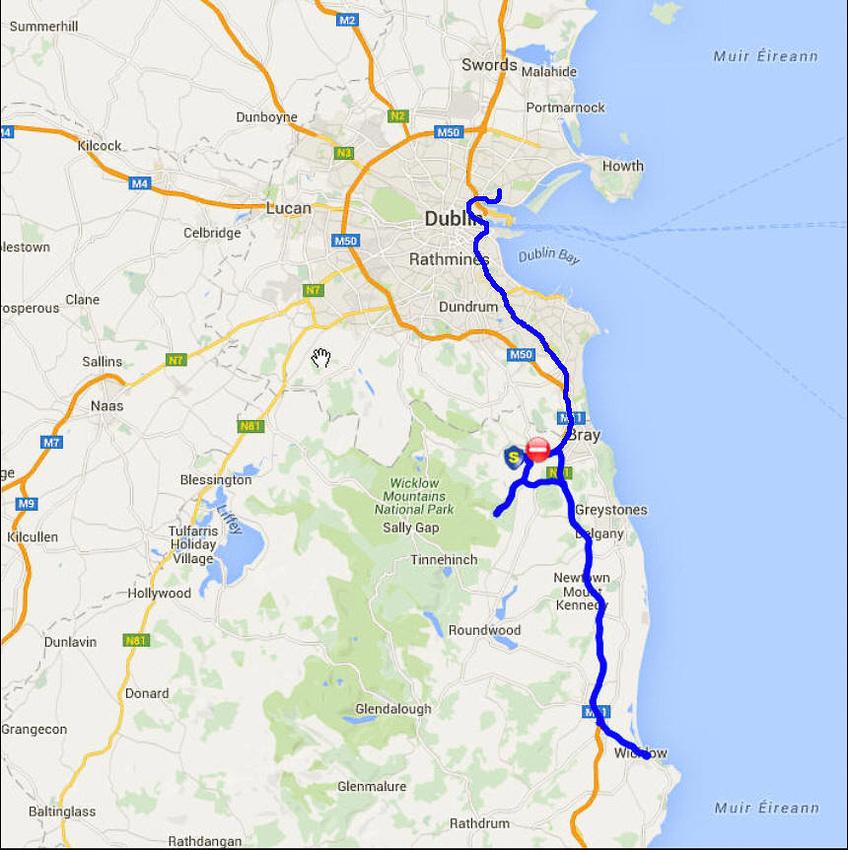 01 2016-06-01 Map Day 03 Powerscourt & Wicklow Gaol