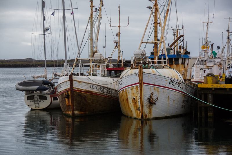 Small Icelandic fishing craft