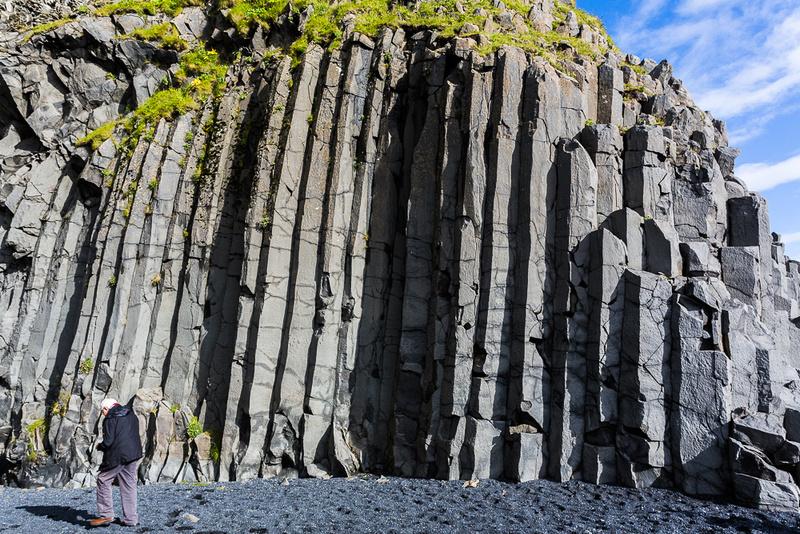 Basalt Columns at Blacksand Beach
