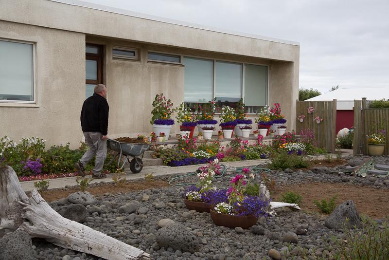 Landscaping in Grindavik