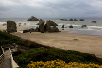 Bandon Beach with stairs