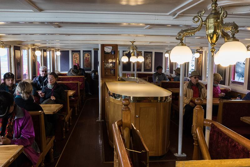 Steamship Earnslaw Lounge