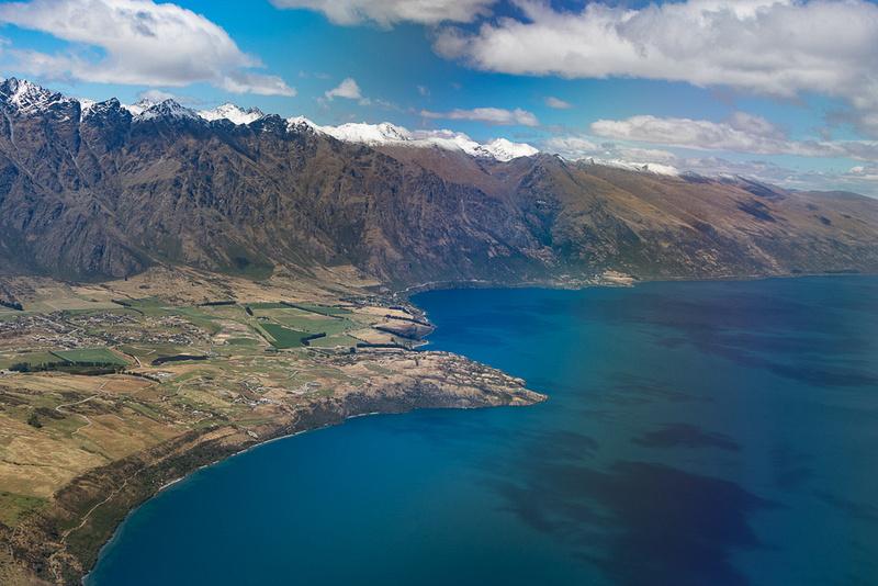 Frankton Arm of Lake Wakatipu NZ