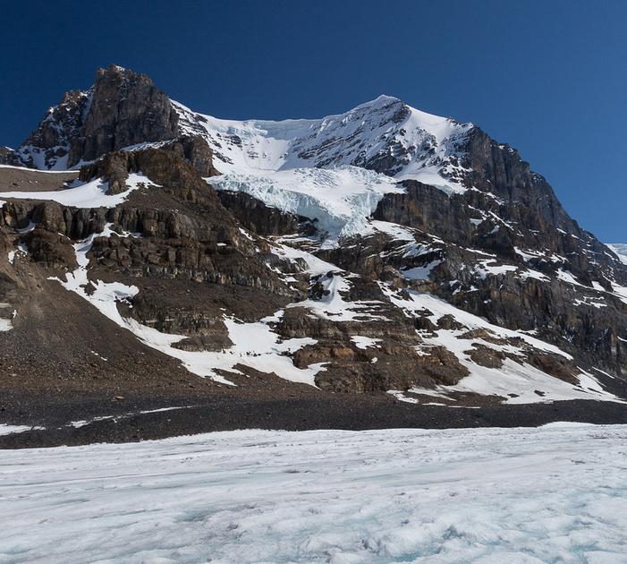 Mt. Andromeda at Athabasca Glacier