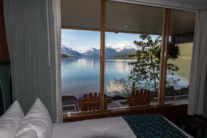 Lake MacDonald from Motel room