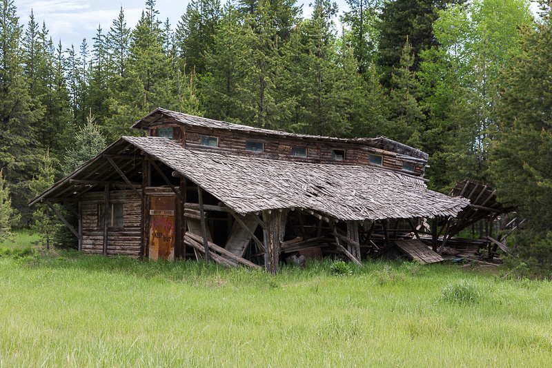 Abandoned in Polebridge