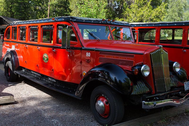 Glacier Tour Bus