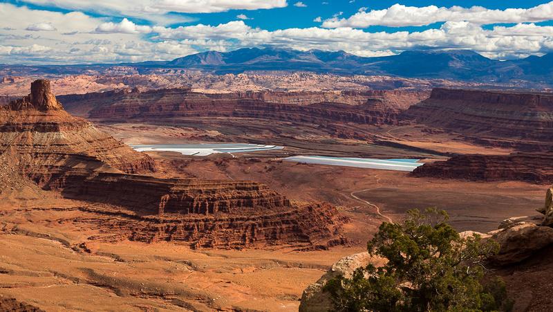 Butte & Potash Evaportaiton Ponds