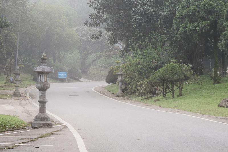 Fog.  Ba Vi Resort.  Ba Vi National Park