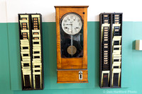 Cotton Mill Punch Clock