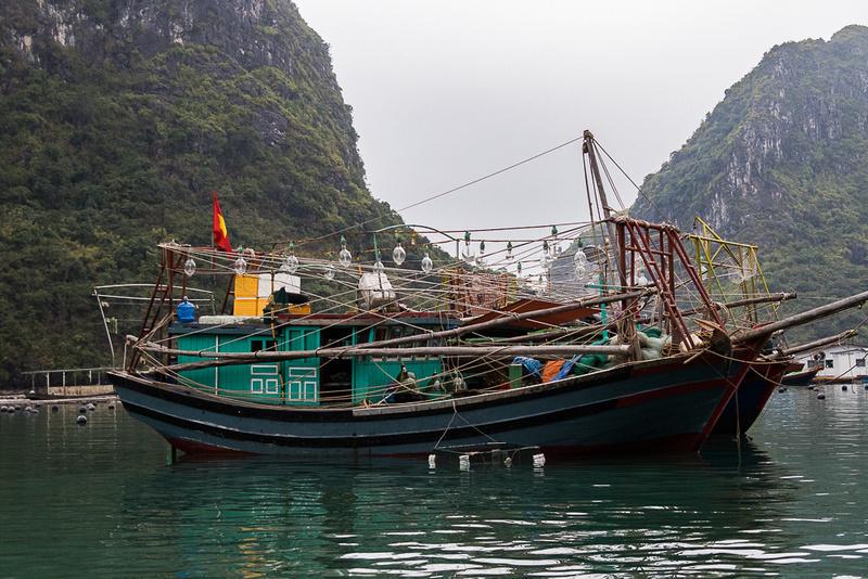 fishing Boat #3, Ha Long Bay, Vietnam