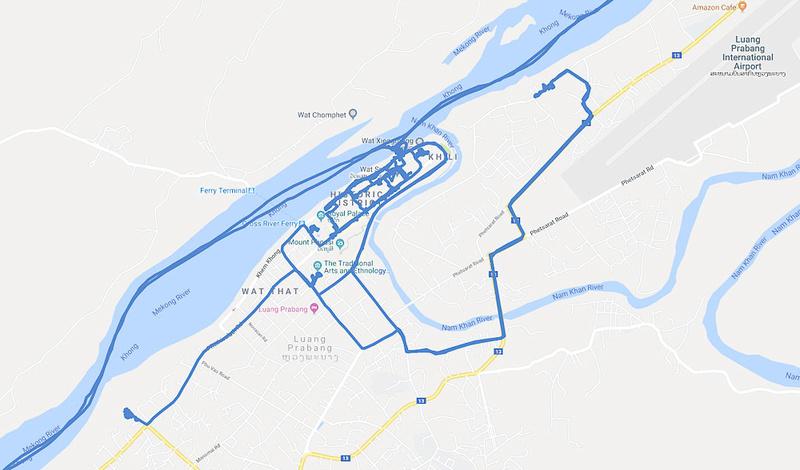 02 Map Luang Prabang