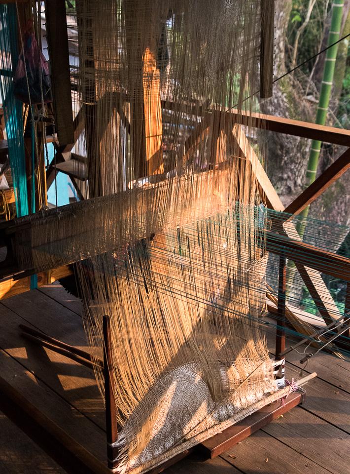 Weaving Loom, Ock Pop Tok Living Craft Center