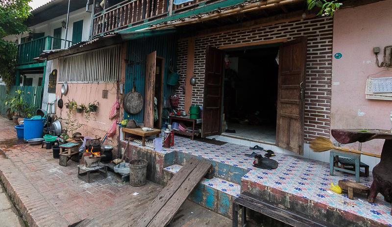 Outdoor Kitchen, Luang Prabang