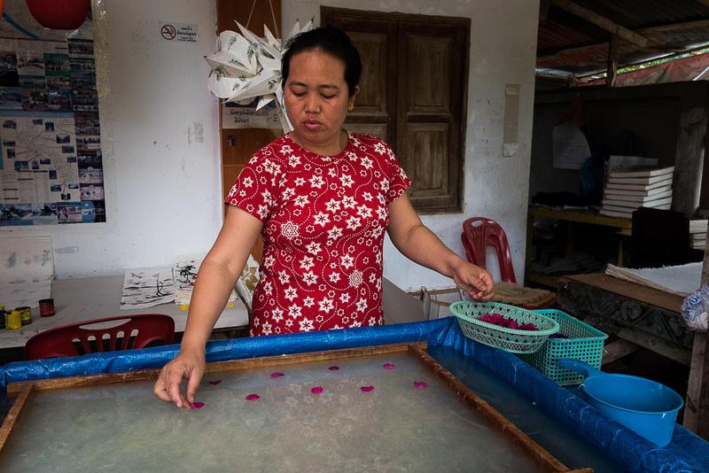 Paper Making, Luang Prabang