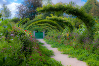 Arbors. Claude Monet Gardens, Giverny, France