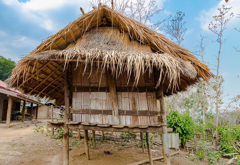 House, Ban Kok San (Hmnong) Village, Laos