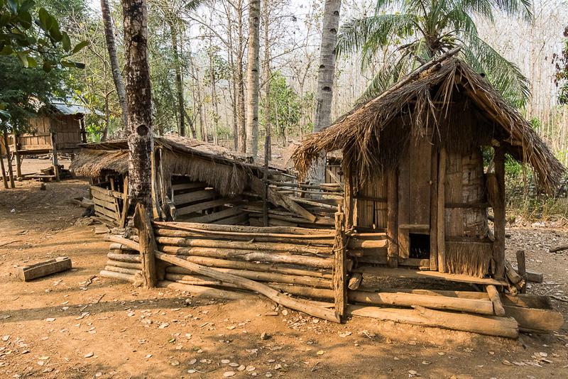 Pig Pen, Ban Kok San (Hmnong) Village, Laos