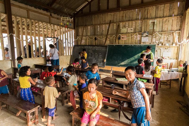 Ban Kok San (Hmnong) Village School, Laos