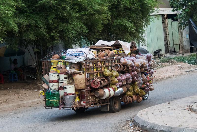 Loaded for Market, Siem Reap Area
