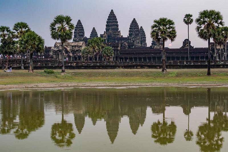 Angkor Wat Temple & reflection