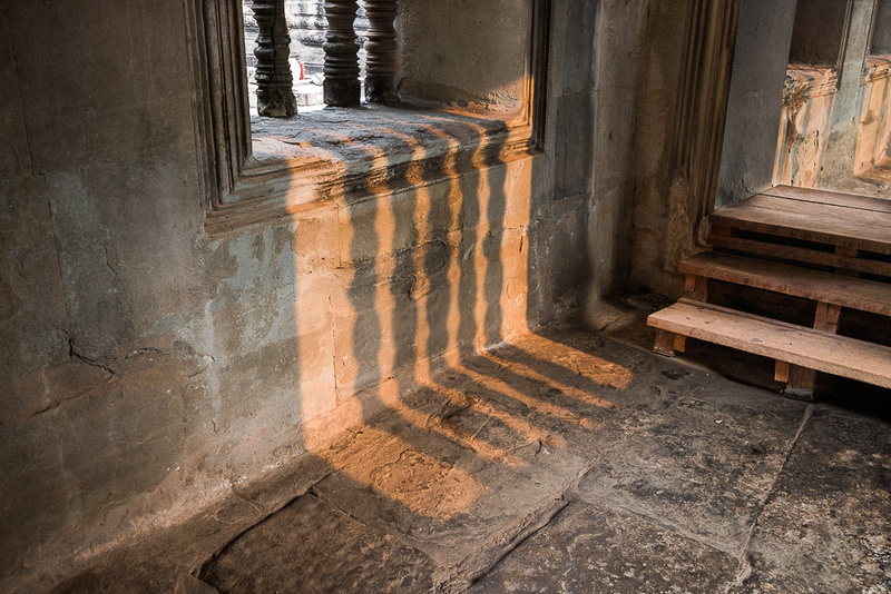 Angkor Wat window light.