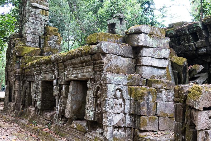 Ta Prohm temple #1, Cambodia