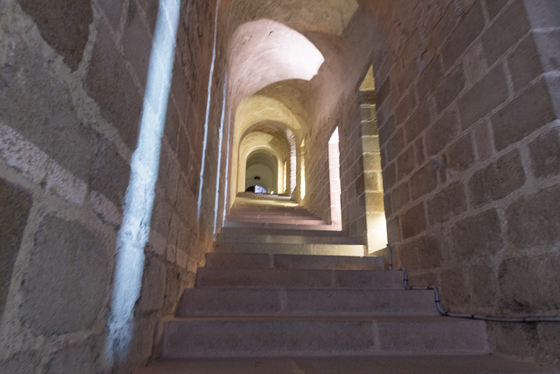 Stone Stairs, Mont St. Michele, FR