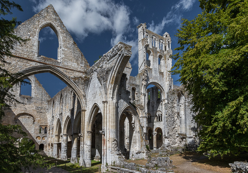 Jumieges Abby, Jumieges France