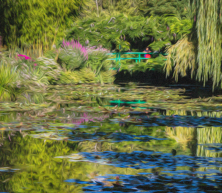 Claude Monet Gardens pond #1, Giverney, France
