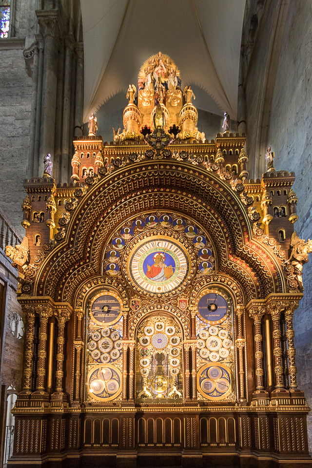 Beauvais Astronomical Clock, Saint Pierre Cathedral, Beauvais France