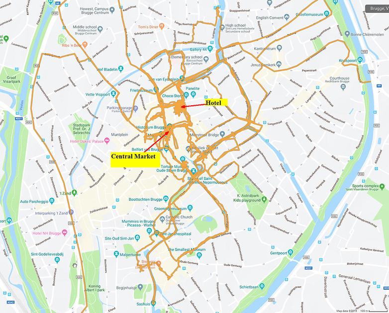 04 Map Bruges