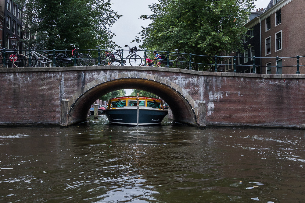 Tight fit in Amsterdam