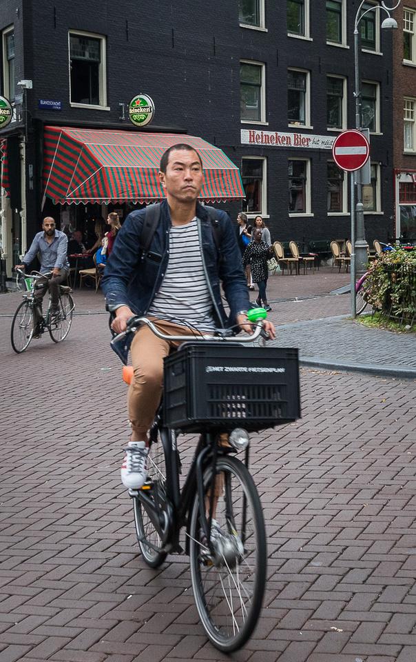 Amsterdam bicyclist