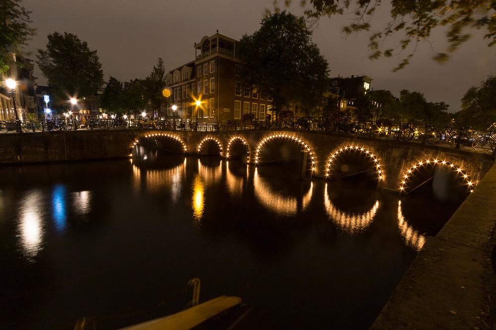 Six Amsterdam arches