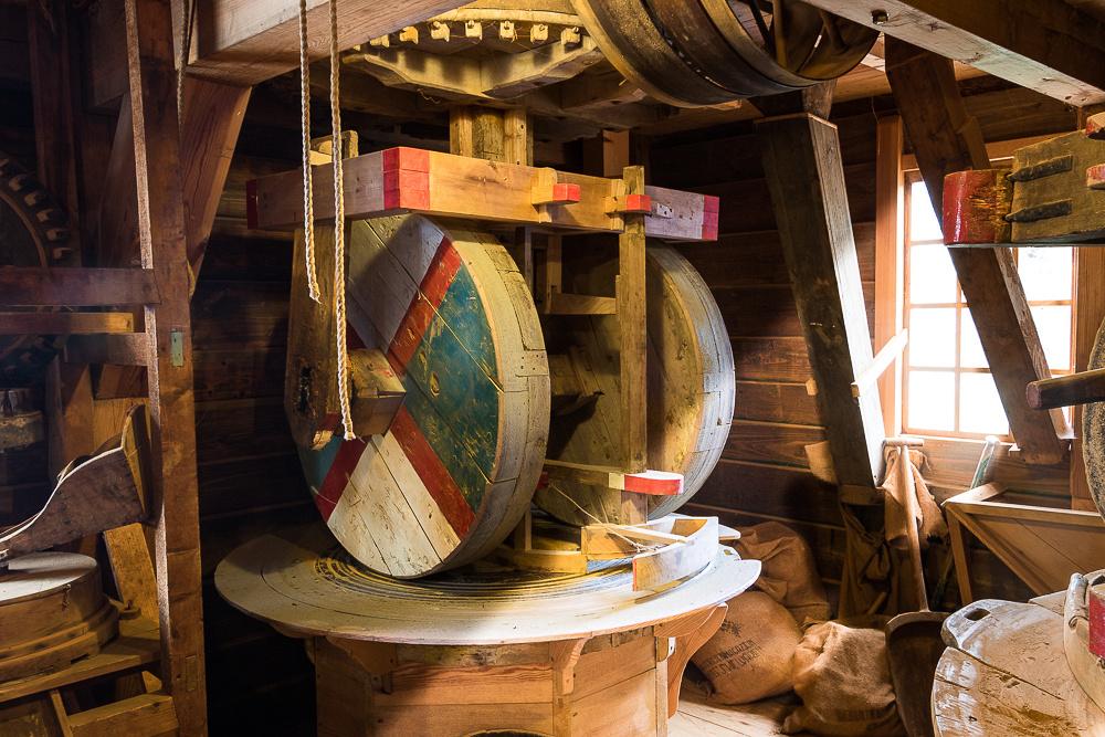 Spice grinding wheel of Zaanse Schans windmill