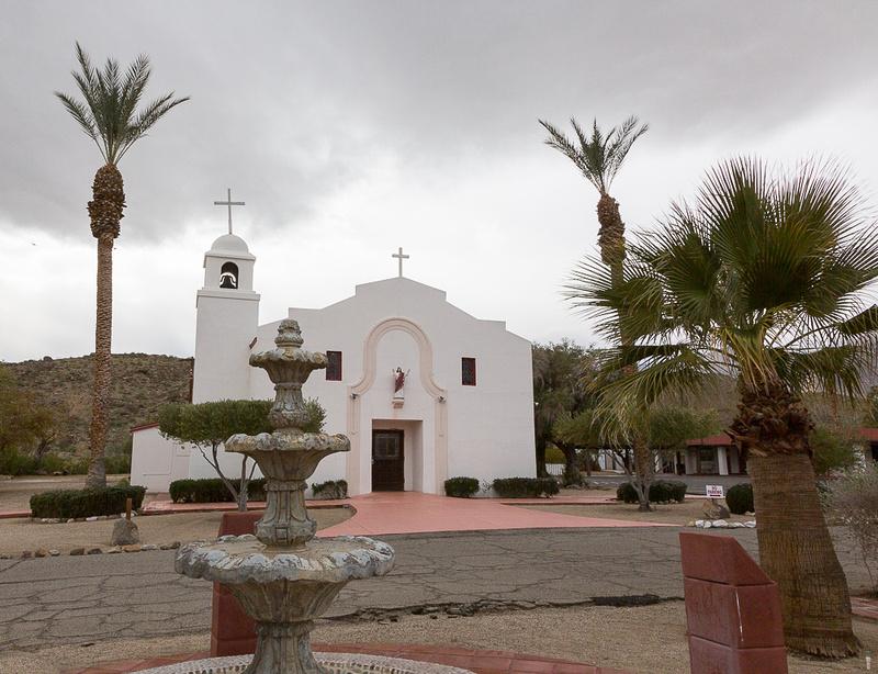 St. Richard's Church, Anza-Borrego, CA