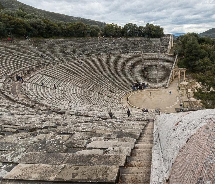 Ancient Epidaurus Greek Theatre #2