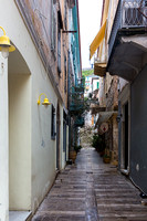 Narrow Nafplion street, Greece