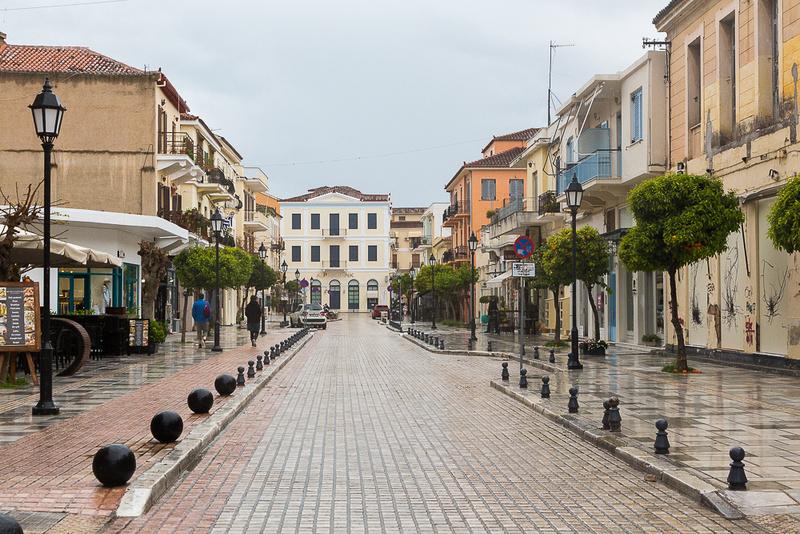 Leof, Vasillisis Amalias St, Nafplion, Greece