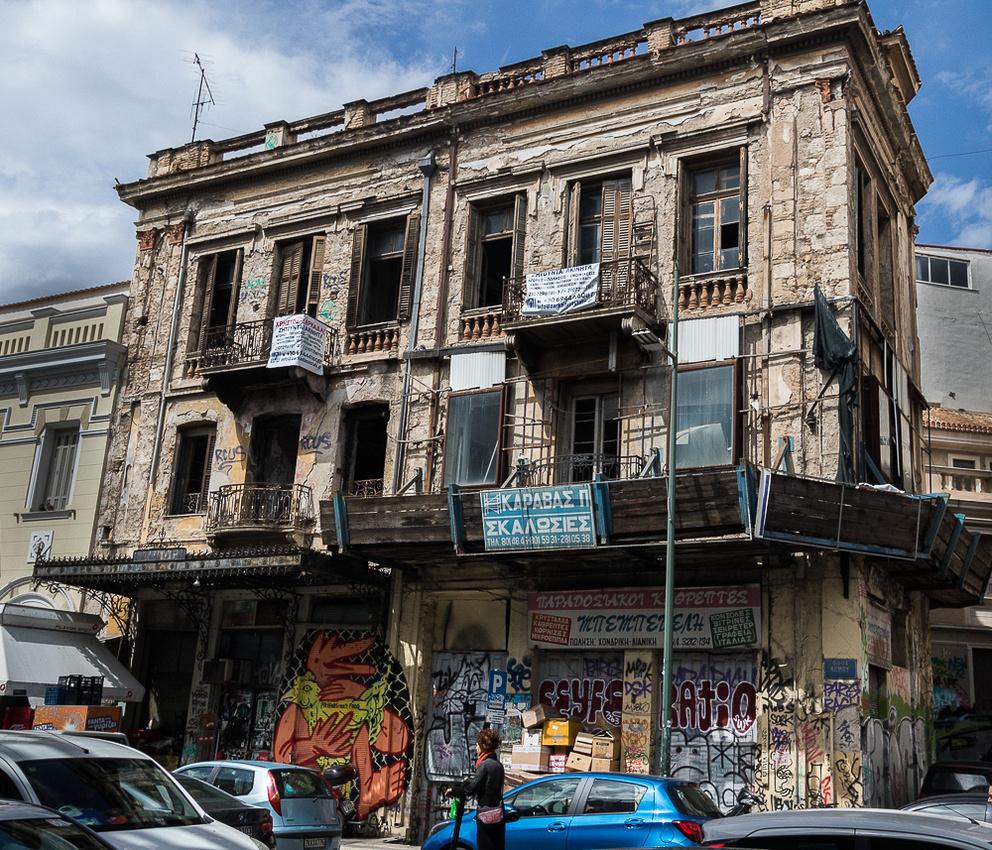 Abandoned in Monastiraki Area