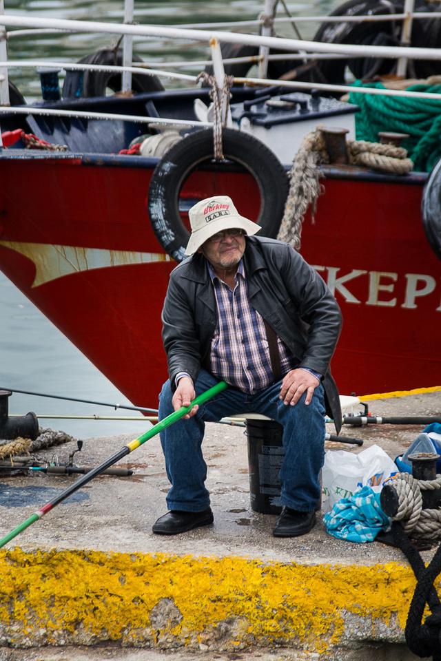 Fisherman, Marína Zéas