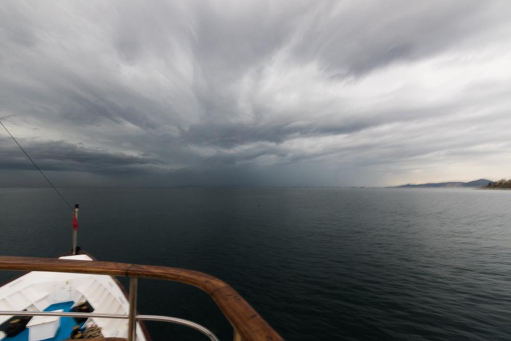 Storm brewing in Aegian