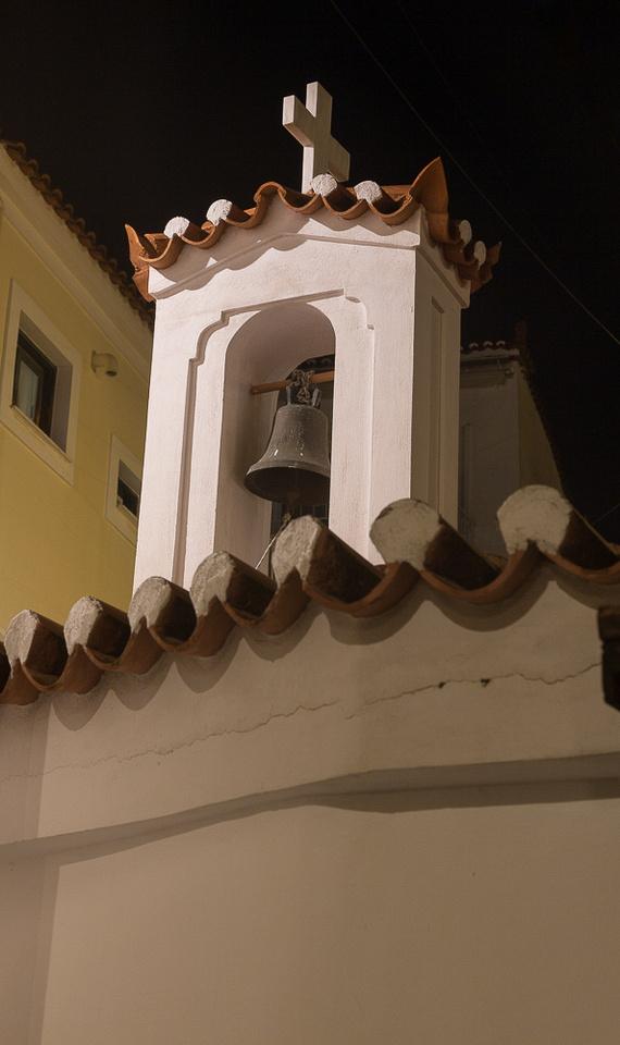 Poros bell tower